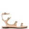 Naia crystal-embellished leather sandals
