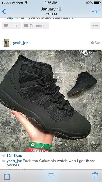 shoes jordans all black everything jordans
