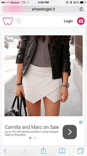 skirt tan pll hannah skirt-shorts