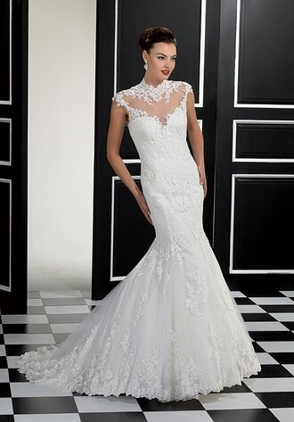dress wedding dress mermaid wedding dress