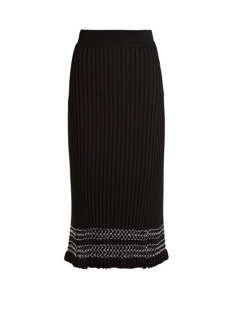 Altuzarra skirt midi skirt midi knit black