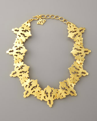Sachin   Babi Rorschach Collar Necklace