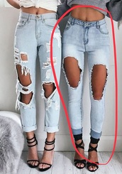 jeans,denim,tacky,summer,spring,fall outfits,autumn/winter,spring outfits,destroyed denim