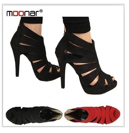 Fashion Sexy Red Bottom High Heels Open Toe Women Pumps Wedding ...