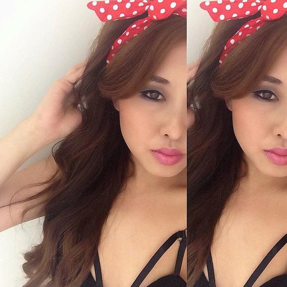 polka dots hair accessories