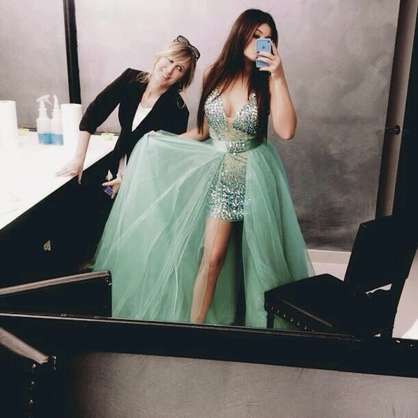 dress blue dress selena gomez fashion nightdress clubwear elegant elegant dress