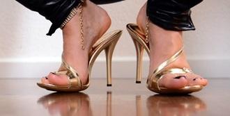 shoes high heels open toes gold high heels heels gold heels gold heel