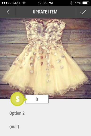 fairytale dress cream dress cream dress with silver sparkles sweatheart neckline homecoming dresses prom dress gold sparkle puffy