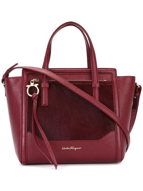 hair women leather red bag