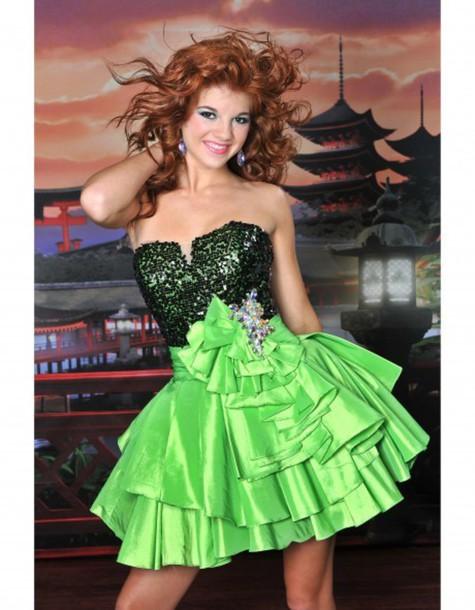 dress party dress beaded charming design prom dress