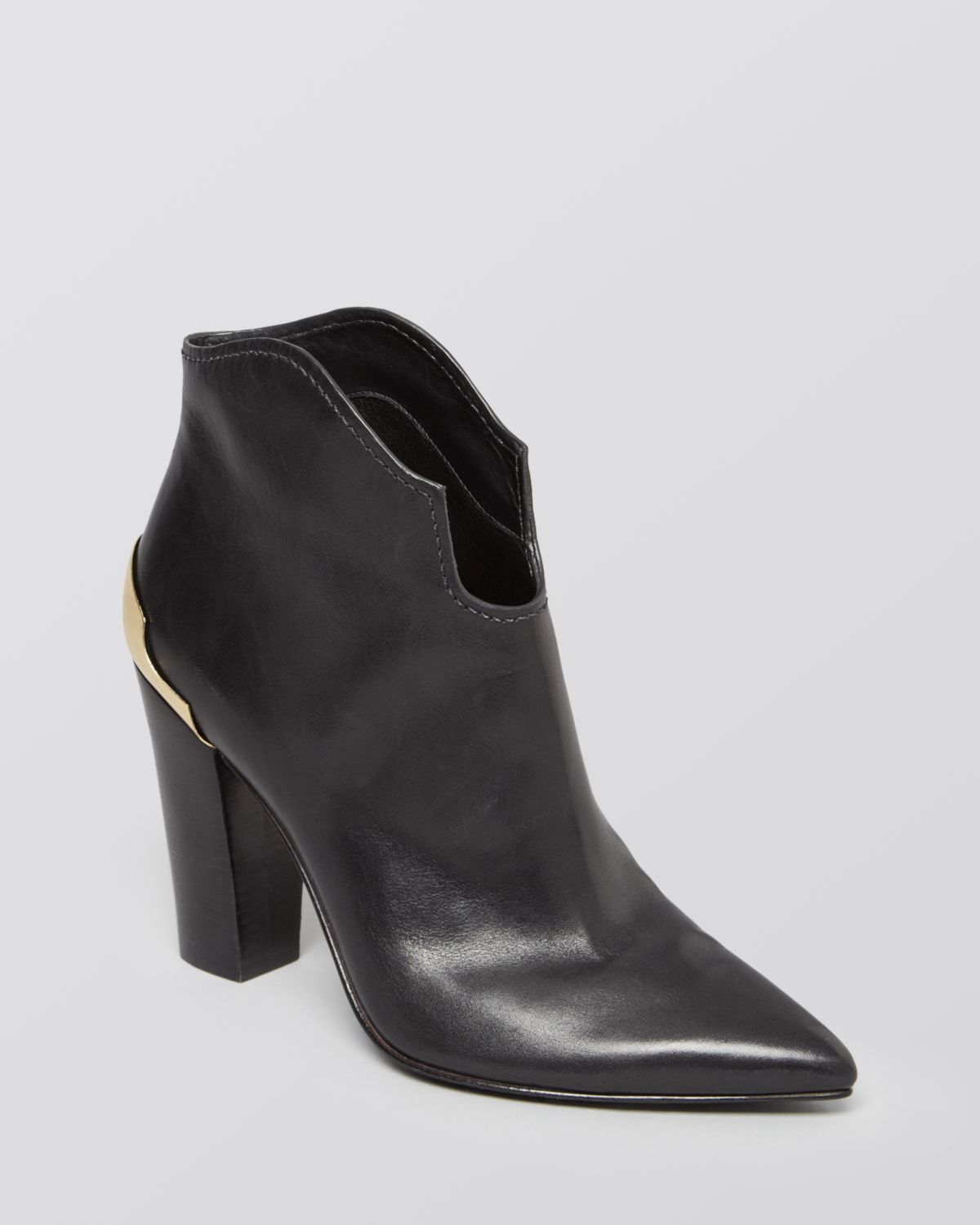 Sigerson Morrison Pointed Toe Booties - Vesta High Heel | Bloomingdale's
