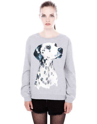 jumper girly underwear grey jumpsuit sweater dog fall outfits