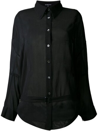 shirt black top