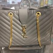 bag,ysl bag,handbag,ysl,purse,chain bag