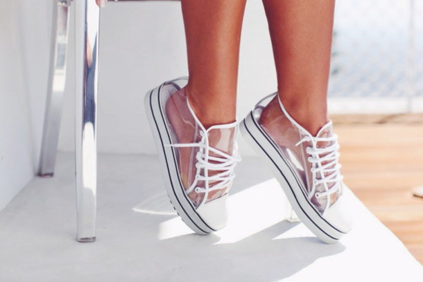 shoes clear converse see through