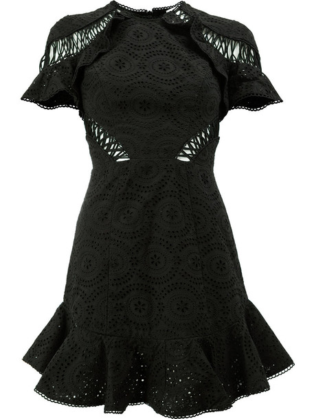 Zimmermann dress mini dress mini women cotton black