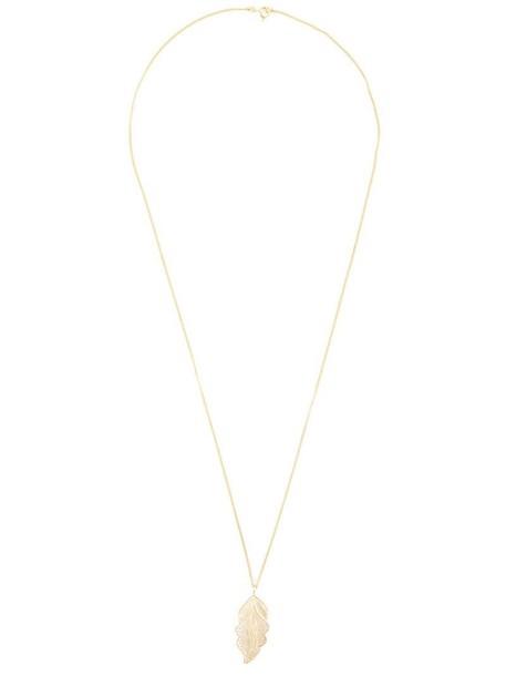 Wouters & Hendrix women necklace pendant silver grey metallic jewels