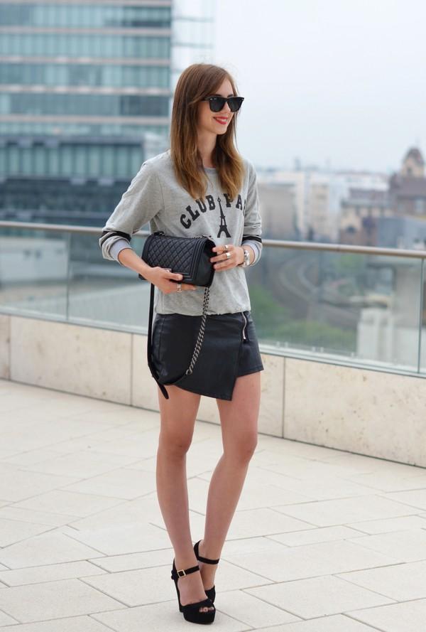 vogue haus skirt shoes bag jewels sunglasses