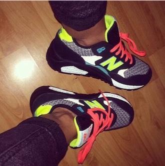 shoe sneaker colors newbalance sports sport new balance new balance sneakers sneakers sports shoes