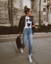 top,white t-shirt