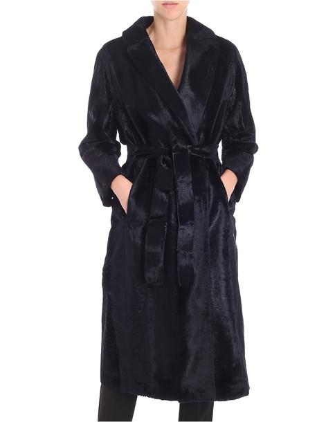 's Max Mara Ocroma Belted Fur Coat