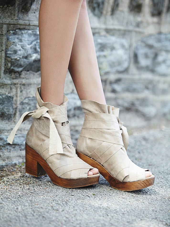 Free People Spire Wrap Clog