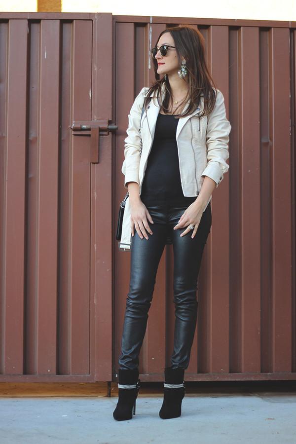 frankie hearts fashion jacket tank top pants shoes bag sunglasses jewels