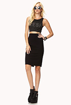 Knit Pencil Skirt | FOREVER21 - 2000074889
