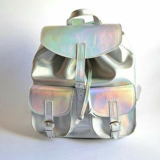 bag holographic hologram bag holograhic backpack backpack