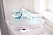 shoes,nike running shoes,mint,pastel,nike,pastel sneakers,blue,seakers