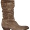 50mm slouched suede boots