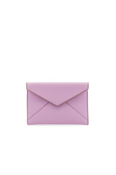clutch purple bag