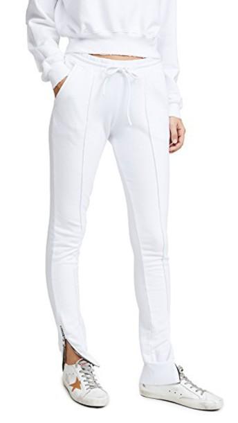 Cotton Citizen sweatpants white pants