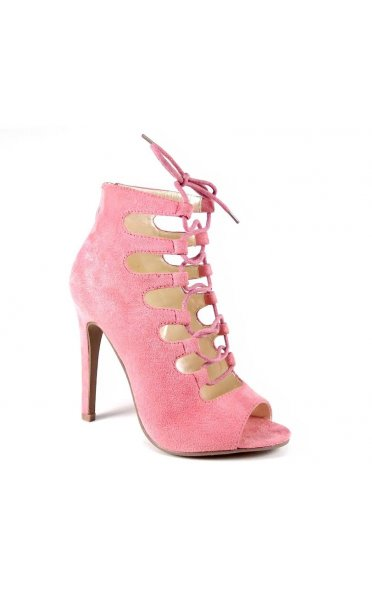 Suede Lace Up Heels - from The Fashion Bible UK