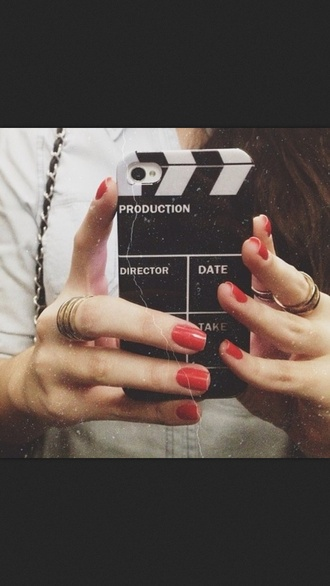 hat phone cover iphone directer cut movie vintage iphone case