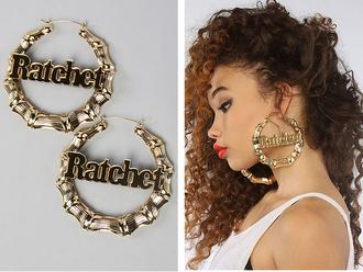 jewels earrings ratchet
