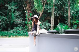 kryzuy blogger hat pants sunglasses jewels shoes