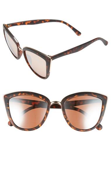 BP. 55mm Metal Rim Cat Eye Sunglasses | Nordstrom