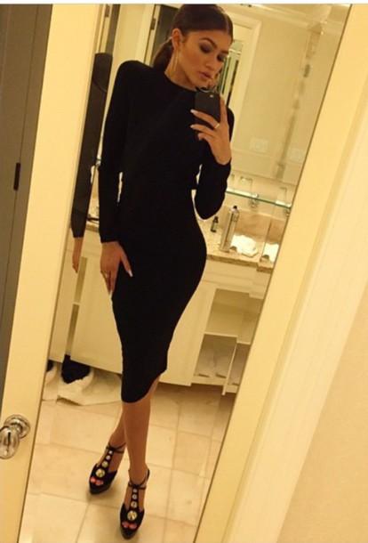 dress zendaya black dress shoes