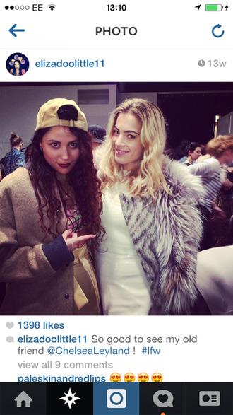 jacket coat brown beige hat pink skirt singer black winter outfits summer girl cool boobtube eliza doolittle