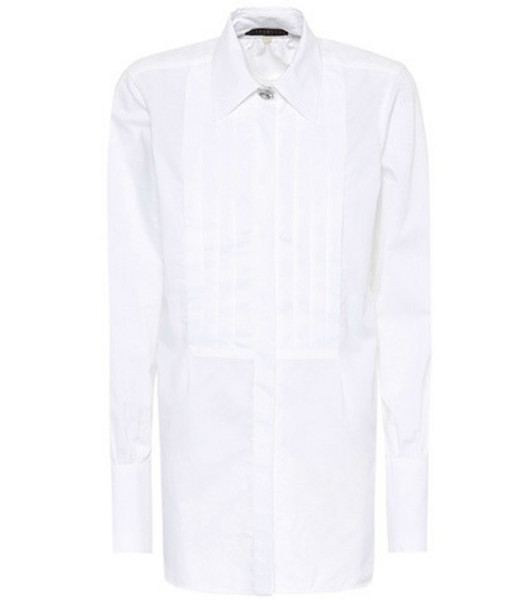 AlexaChung Cotton shirt in white