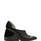 Black lambskin drop heel pump | moda operandi