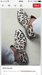 boots,high heels boots,leopard print,ankle boots