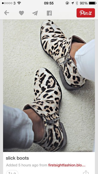 leopard print boots boots high heels ankle boots