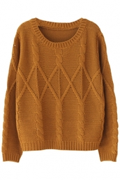 sweater,cable knit,rust