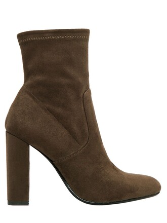 boots ankle boots khaki shoes