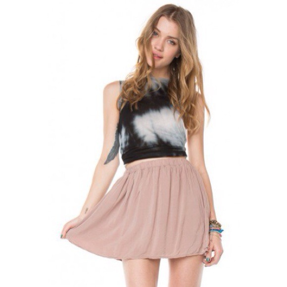 Brandy melville pink skirt from taylor's closet on poshmark