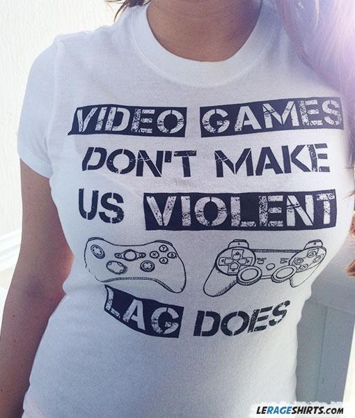 Video games don't make us violent lag does t