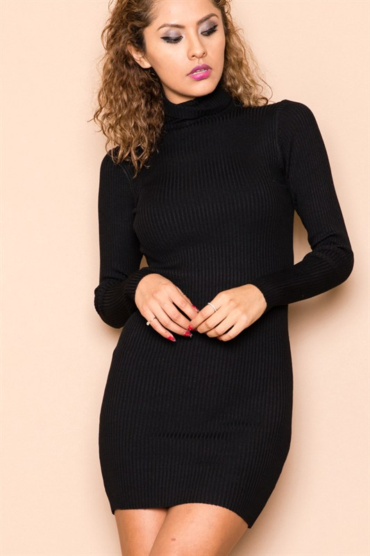After the party black knit dress · trendyish · online store powered by storenvy