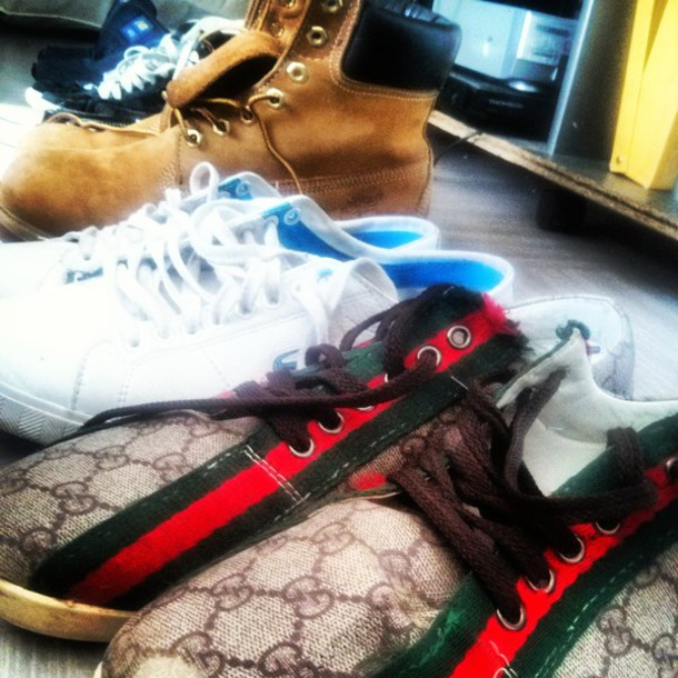 brand new 1dc8b b88a8 shoes gucci lacoste timberlands nike blazer